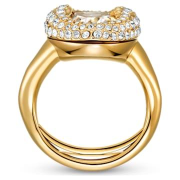 Shell Ring, White, Gold-tone plated - Swarovski, 5520666