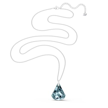 Spirit nyaklánc, kék, ródium bevonattal - Swarovski, 5521034