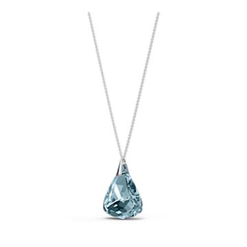 Collana Spirit, azzurro, placcato rodio - Swarovski, 5521034