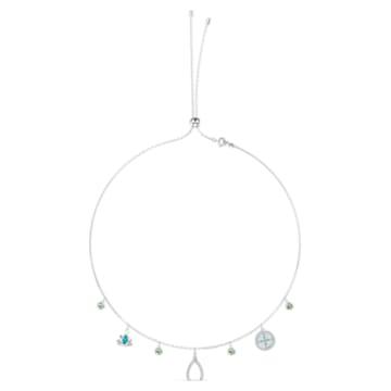 Collier Swarovski Symbolic Charm, multicolore clair, métal rhodié - Swarovski, 5521449