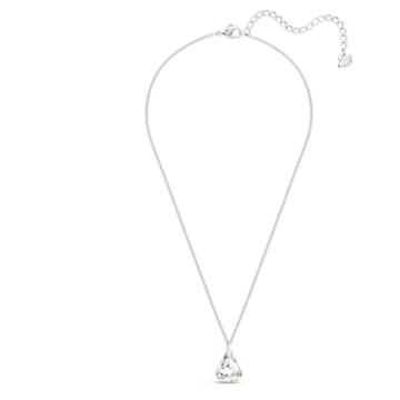 Spirit medál, fehér, ródium bevonattal - Swarovski, 5521769