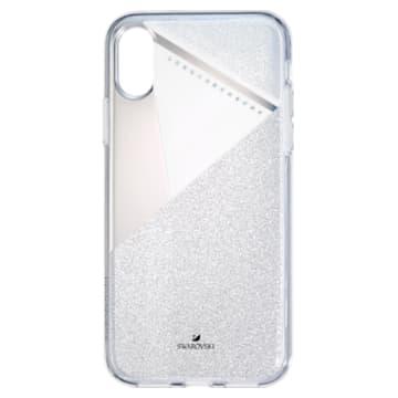 Subtle 智能手機防震保護套, iPhone® X/XS, 銀色 - Swarovski, 5522076