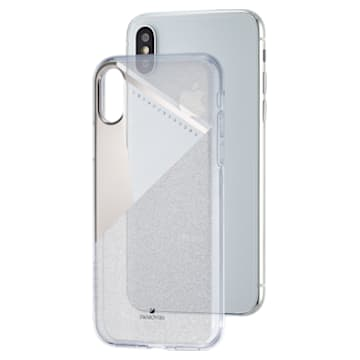 Subtle okostelefontok beépített ütéselnyelővel, iPhone® X/XS, ezüst árnyalattal - Swarovski, 5522076
