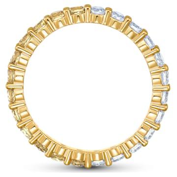 Δαχτυλίδι Vittore Half, χρυσή απόχρωση, επιχρυσωμένο - Swarovski, 5522878