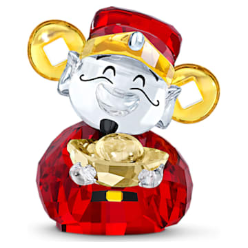 Asian Symbols Cute God of Wealth - Swarovski, 5523324