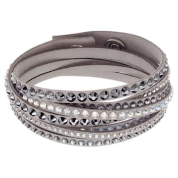Slake Deluxe Armband, grau - Swarovski, 5524009