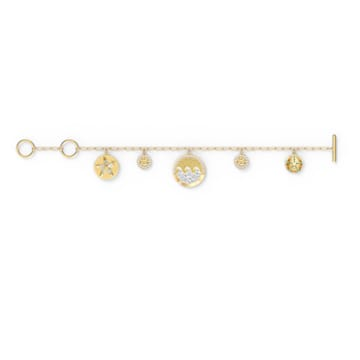 Shine Coins Armband, Mehrfarbig, Goldlegierung - Swarovski, 5524188