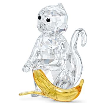 Małpa z bananem - Swarovski, 5524239