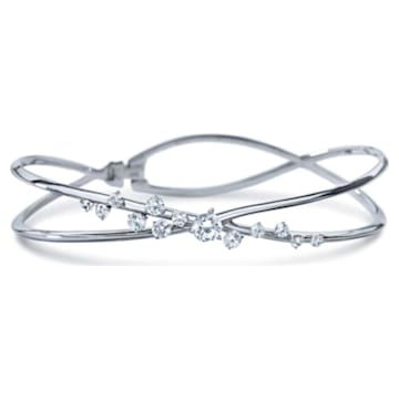 Encounter Bracelet, Swarovski Created Diamonds, 18K White Gold - Swarovski, 5524718
