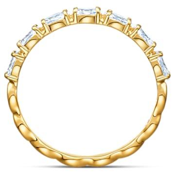 Vittore Marquise Кольцо, Белый Кристалл, Покрытие оттенка золота - Swarovski, 5525118