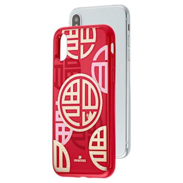 Full Blessing Fu 智能手機防震保護套, iPhone® X/XS, 紅色 - Swarovski, 5526480