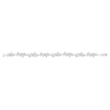 Bracelet Diapason, blanc, Métal rhodié - Swarovski, 5528190