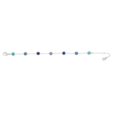 Blow bracelet, Multicoloured, Rhodium plated - Swarovski, 5528200