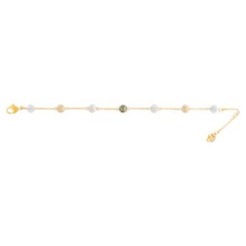 Braccialetto Blow, Multicolore, Placcato color oro - Swarovski, 5528202