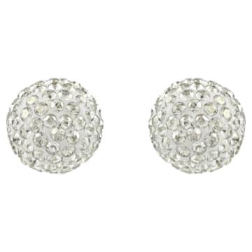 Boucles d'oreilles Blow, gris, Finition mix de métal - Swarovski, 5528455