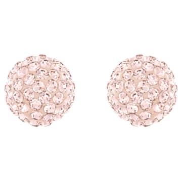 Pendientes Blow, rosa, Baño en tono Oro rosa - Swarovski, 5528456