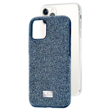 High okostelefon tok, iPhone® 11 Pro, kék - Swarovski, 5531145