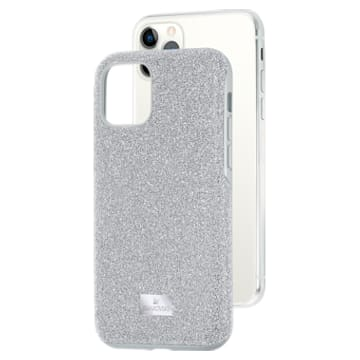 High 스마트폰 케이스, iPhone® 11 Pro, 실버 톤 - Swarovski, 5531146