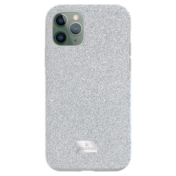 High smartphone case , iPhone® 11 Pro, Silver Tone - Swarovski, 5531146