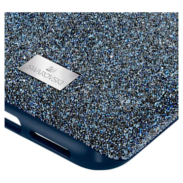 High okostelefon tok, iPhone® 11 Pro Max, kék - Swarovski, 5531148