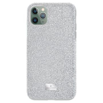 Funda para smartphone High, iPhone® 11 Pro Max, tono plateado - Swarovski, 5531149