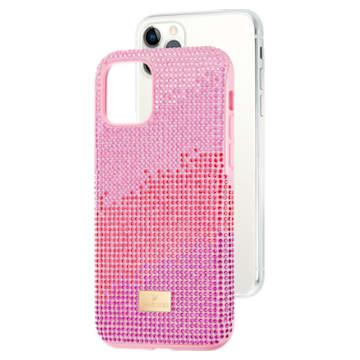 High Love smartphone case , iPhone® 11 Pro, Pink - Swarovski, 5531151