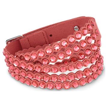 Swarovski Power Collection bracelet, Medium, Red - Swarovski, 5531287