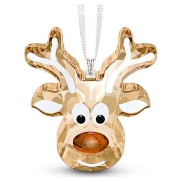 馴鹿造型的薑餅掛飾 - Swarovski, 5533944