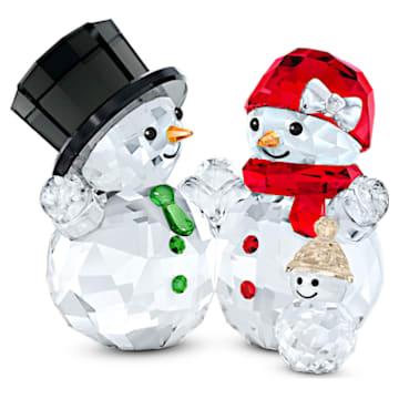 Familie de oameni de zăpadă - Swarovski, 5533948