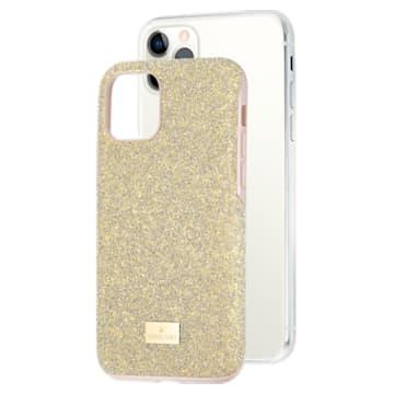 High Smartphone Schutzhülle mit Stoßschutz, iPhone® 11 Pro, goldfarben - Swarovski, 5533961