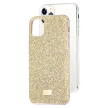 Étui pour smartphone High, iPhone® 11 Pro Max, Ton doré - Swarovski, 5533970