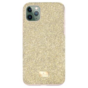Husă pentru smartphone High, iPhone® 11 Pro Max, Nuanță aurie - Swarovski, 5533970