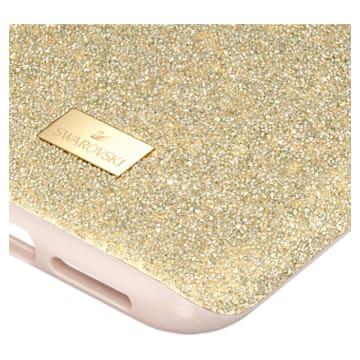 Funda para smartphone con protección rígida High, iPhone® 11 Pro Max, tono dorado - Swarovski, 5533970