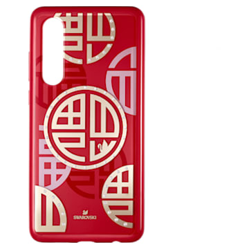 Full Blessing Fu 智能手機防震保護套, Huawei® P30, 紅色 - Swarovski, 5533975