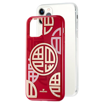 Full Blessing Fu Smartphone Case with Bumper, iPhone® 11 Pro, Red - Swarovski, 5533977