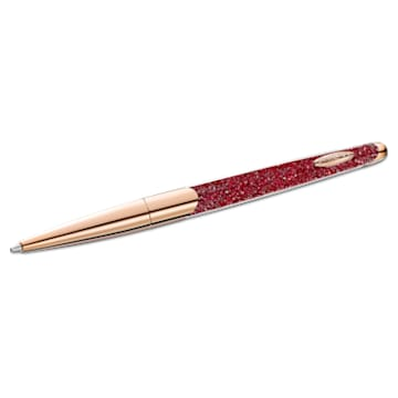 Crystalline Nova Kugelschreiber, Rot, Roségold-Legierungsschicht - Swarovski, 5534323