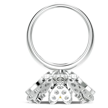 Eternal Flower-ring, Geel, Gemengde metaalafwerking - Swarovski, 5534936