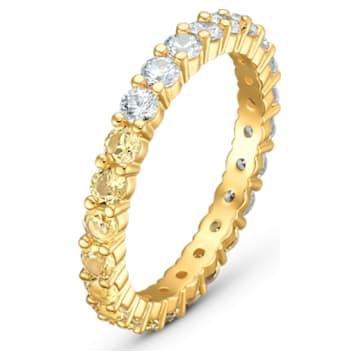Anello Vittore Half, tono dorato, placcato color oro - Swarovski, 5535246