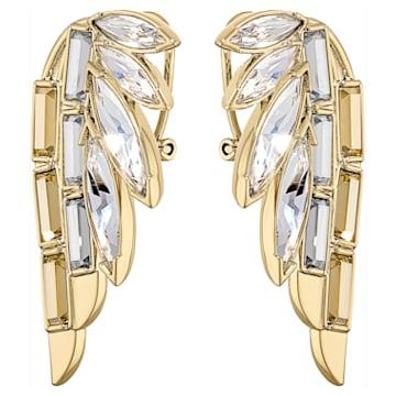 Wonder Woman bedugós fülbevaló, arany árnyalat, arany árnyalatú bevonattal - Swarovski, 5535589