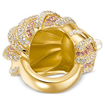Sculptured Shells 戒指, 淺色漸變, 多種金屬潤飾 - Swarovski, 5535678