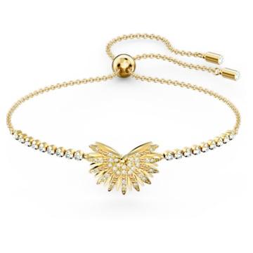 Swarovski Symbolic Palm Armband, mehrfarbig hell, vergoldet - Swarovski, 5535827