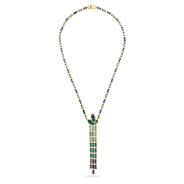 Beautiful Earth by Susan Rockefeller Y necklace, Bamboo, Multicoloured, Gold-tone plated - Swarovski, 5535893