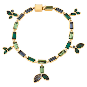Beautiful Earth by Susan Rockefeller bracelet, Bamboo, Multicolored, Gold-tone plated - Swarovski, 5535894