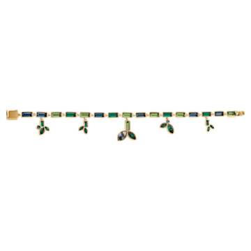 Strand Beautiful Earth by Susan Rockefeller, multicolore scuro, placcato color oro - Swarovski, 5535894