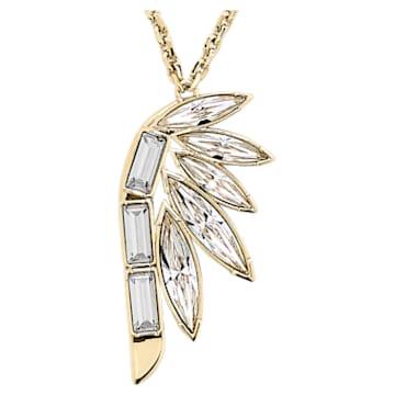 Wonder Woman 链坠, 白色, 镀金色调 - Swarovski, 5535916