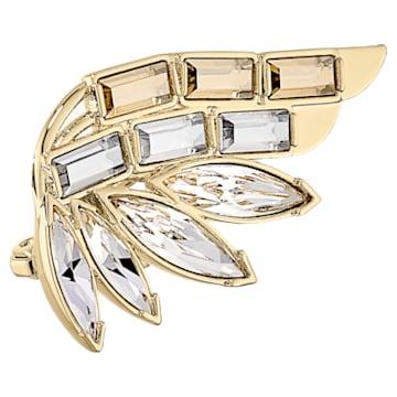 Wonder Woman 胸针, 金色, 镀金色调 - Swarovski, 5535917