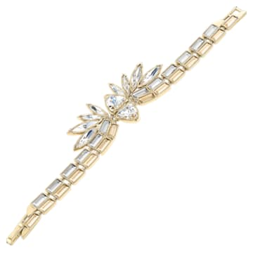 Bracciale rigido Wonder Woman, tono dorato, placcato color oro - Swarovski, 5535967
