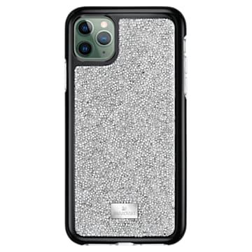 Glam Rock okostelefon tok beépített ütéselnyelővel, iPhone® 11 Pro Max, ezüst árnyalat - Swarovski, 5536650