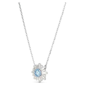 Sunshine Подвеска, Синий Кристалл, Родиевое покрытие - Swarovski, 5536742