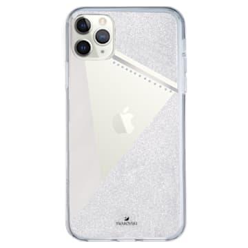 Subtle Smartphone Schutzhülle mit Stoßschutz, iPhone® 11 Pro, silberfarben - Swarovski, 5536847